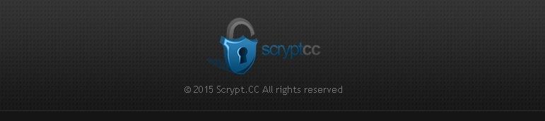 footer de la web scrypt.cc