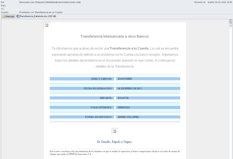 phishing bancomer