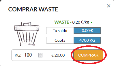 recyclix comprar paso 4